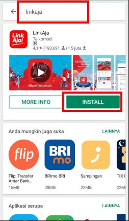 Cara Download Registrasi Aktivasi Linkaja